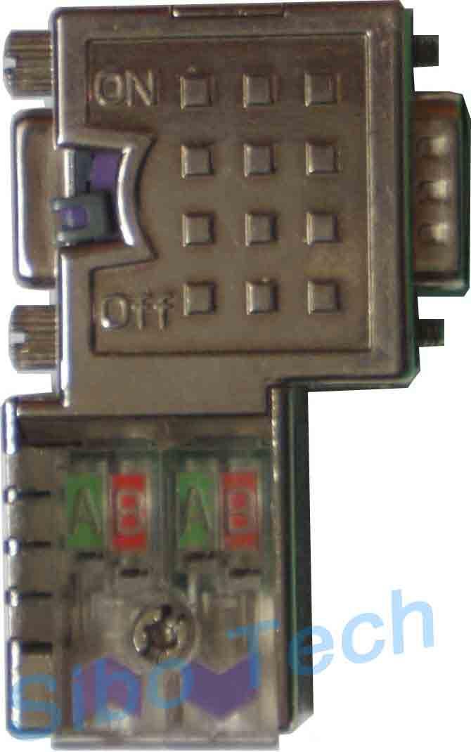 profibus dp接线方法